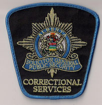Alberta - Solicitor General Public Security - Correctional Officer  (2006 - 2007)  (Ancien modèle / Last model)  (Usagé / Used)  1x