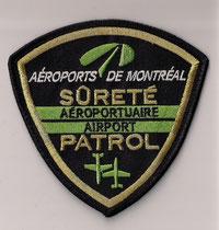 Aéroports de Montréal - Sûreté Aéroportuaire / Airport Patrol  (Ancien modèle / Last model)  (Usagé / Use)  1x