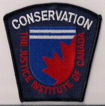 Conservation - The Justice Institute of Canada  (Holland College)  (Î-P-É / PEI)  (Fond bleu / Blue background)  (Neuf / New)  *Rare*  ####  ÉCHANGE SPÉCIAL / SPECIAL TRADE  ####  1x