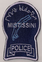 Mistissini Police  (Variance 3)  (Crie / Cree)  (Défunt / Defunct)  (Fusionné avec Eeyou Eenou /  Incorporated with Eeyou Eenou)  (Erreur , rose - Prototype - Pink , error)  (Usagé / Used)  2x