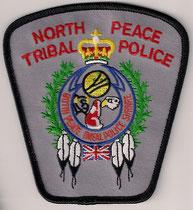 North Peace Tribal Police  (Alberta)  (Variance 1)  (Contour noir / Black border)  (Ancien modèle / Last model)  (Neuf / New)  1x
