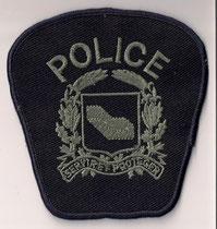 """G.I. - Police Laval  (Modèle sans le """"G.I."""" et sans le """"Laval""""  -  Model without """"G.I."""" and without """"Laval"""")  (2002)  (#5)  (Comme neuf / Same new)  ####  ÉCHANGE SPÉCIAL  /  SPECIAL TRADE  ####  1x"""