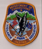 Department of Corrections Alaska  (Actuelle/Current)  (Neuve/New)  1x