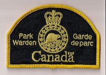 Park Warden - Canada - Garde de parc  (Coins carrés / Square corner)  (Ancien modèle / Last model)  (Usagé / Used)  1x