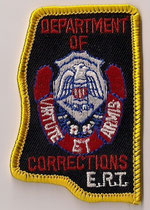 Mississippi State - Departement of Corrections - ERT  (Forme de l'État / State form)  (Neuf / New)  1x