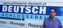 Eduard Deutsch, Inhaber Schlosserei Deutsch