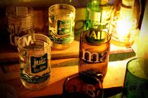 Upcycling Gläser Trinkgläser