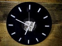 Uhr Schallplatte