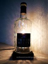 Lampe wodka flasche