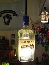 Pendelleuchte Gin Flasche