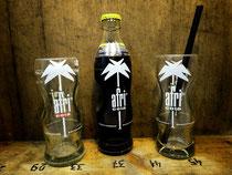 Trinkglas aus Cola Flasche