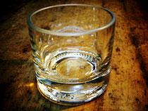 Tumbler aus Glasflasche