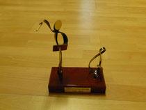 Skulptur zum 30 jährigen Bestehens des Wilmersdorfer Kammerchors (2014)