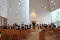 14. Juni 2016 -  Probe St. Canisius