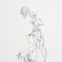 Die Sonnenblume/40x40 cm