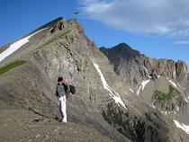 Le col du Sageroux, avec le Mont Sageroux juste derrière.