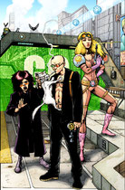 Transmetropolitan: All Around The World
