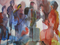 Aquarell-MT - 50x40 - Figuren2