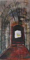 "Leinwand - Acryl - 60x30cm - ""Das Ende der Welt"""