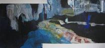 Acryl auf Papier - 90x50-Hochrhein2