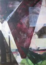 """Leinwand-Acryl-70x50 cm - """"Völklingen1"""""""