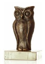 ´Kleine Eule` Bronze_ 11 cm_Auflage 24 Stk.