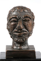 Der Denker, Bronzeguss, Höhe: 16 cm