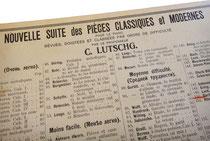 Серия нотных выпусков Иогансена под редакцией Карла Лютша