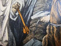 Скипетр и нагайка в руках запорожского гетмана Ивана Скоропадского