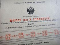 Пётр Юргенсон, нотный издатель