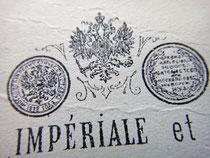 Медаль Московской политехнической выставки 1872 года (слева)