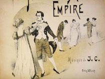 Танцоры на обложке, одетые по моде 1800-х