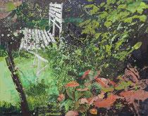 ARONIA, 2014, Öl auf Leinwand, 120 x 150 cm