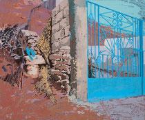 HASSANI, 2014, Öl auf Leinwand, 50 x 60 cm