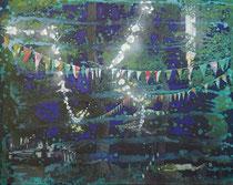Tanzfest, 2020, Öl auf Leinwand, 40 x 50 cm verkauft