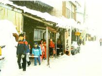 雪とくらし 雪のがん木通り