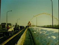 雪みらい 道の確保