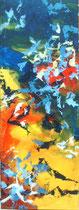 """""""Der Sonne entgegen""""   Acryl auf Leinwand   60 x 200"""