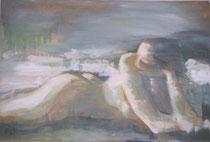 """""""Herbstfrau""""    Acryl auf Leinwand     40 x 60"""