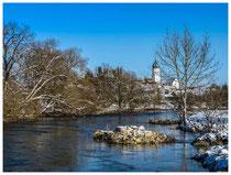 Donautal - Blick auf Laiz 7108