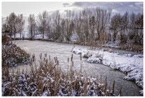 Winterlandschaft im Hegau bei Stockach 2236