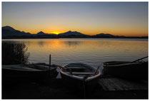 1268 Sonnenuntergang am Hopfensee