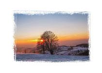 Sonnenuntergang Schauinsland 7855