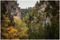 Marienbrücke über der Pöllatschlucht bei Schwangau 1048