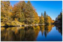 1385 Herbststimmung am Mittersee bei Bad Faulenbach