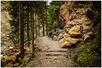 Wanderweg durch die Pöllatschlucht bei Schwangau 1040
