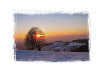 Sonnenuntergang Schauinsland 7857