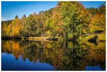 1387 Herbststimmung am Mittersee bei Bad Faulenbach