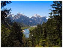 8519 Der Lech bei Füssen
