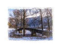 Brücke bei Beuron 1583